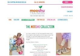 Mooshu Trainers Website Screenshot