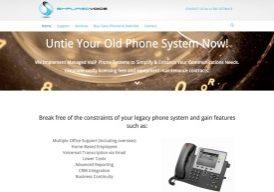 Simplified Voice Website Screenshot